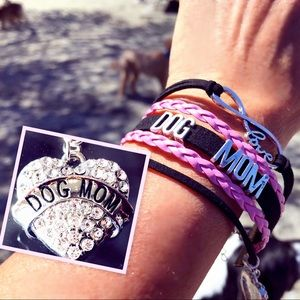 Jewelry - 🆕Woven bracelet for Dog Moms!